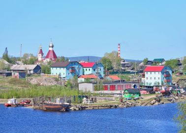 Le village de Varzuga