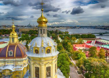 Saint-Pétersbourg - La cathédrale de la forteresse Pierre et Paul