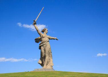 Voyage Russie, Volgograd - Statue de la Mère-Patrie
