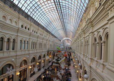 Voyage Russie, Moscou - GOUM