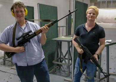 Moscou - Expérience de tir