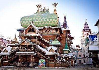 Noël russe au kremlin d'Izmaïlovo - Visite Moscou