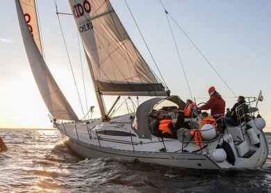 Activité Yatching sur le Golfe de Finlande à Saint Pétersbourg
