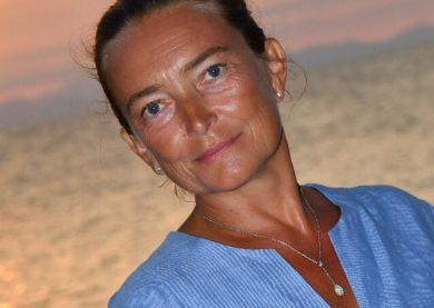 Katia, professeur de yoga