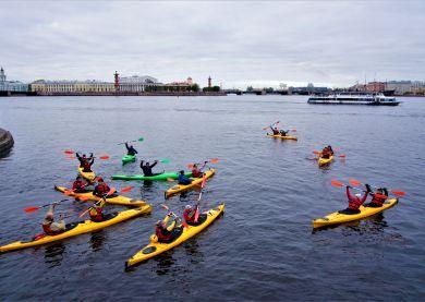 Tour en kayak - Saint-Pétersbourg