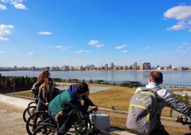 Kazan - Visite guidée à vélo