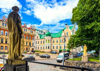 Visite Anneau d'Argent - Vyborg © Dreamstime