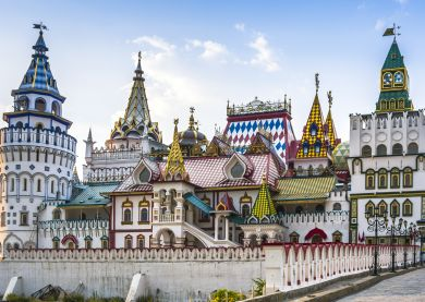 Voyage Russie, Moscou - Kremlin d'Izmailovo