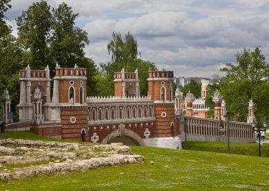 Visite Moscou - Parc Tsaritsyno