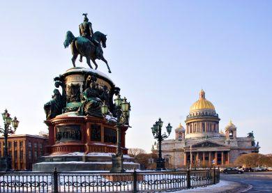 Voyage Russie, Saint-Pétersbourg - Cathédrale Saint-Isaac
