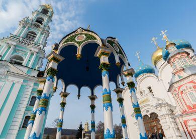 Visite Serguiev Possad - Laure de la Trinité Saint-Serge