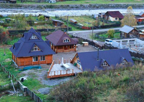 Auberge chez Eric et Natacha dans l'Altaï