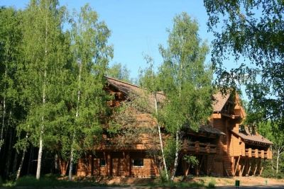 Hotel Kostroma - Cottage Romanov Less