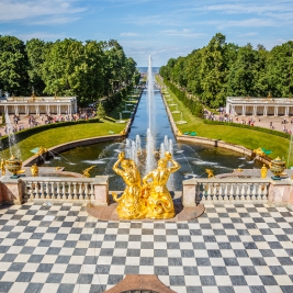 Saint-Pétersbourg Peterhof
