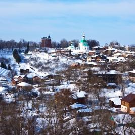 Vue panoramique de Vladimir