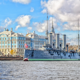Voyage Saint-Pétersbourg - Croiseur Aurore