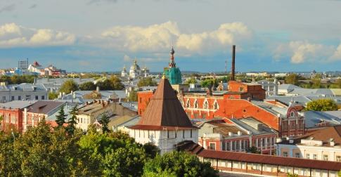 Panorama de Yaroslavl