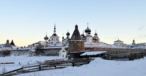 Voyage Solovki en hiver - Monastère Solovki