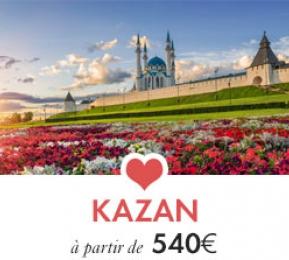 Kazan, voyage en Russie