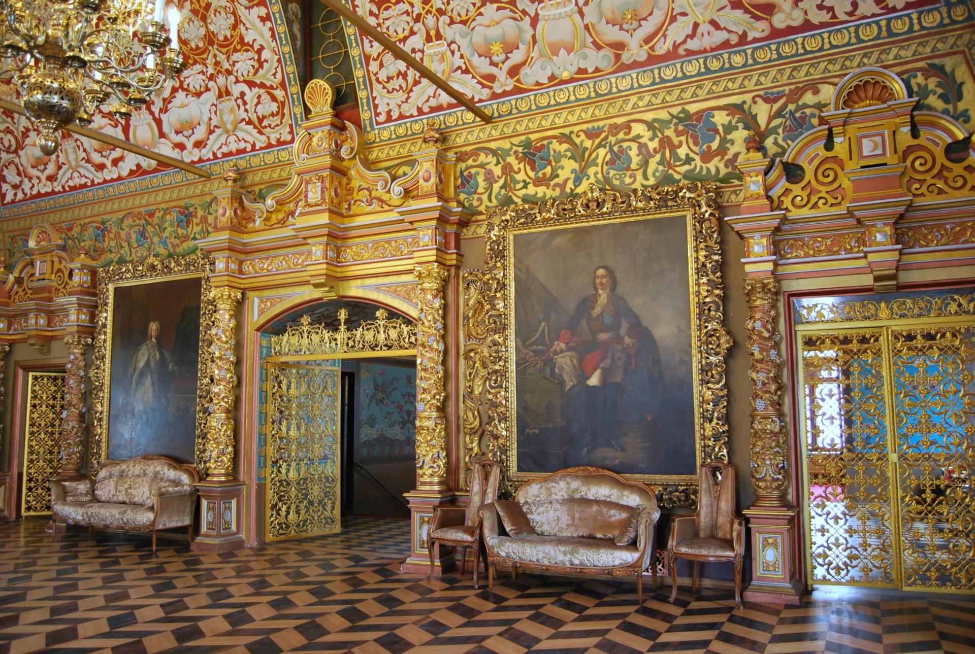 Saint p tersbourg palais youssoupov tsar voyages for Les jardins de catherine