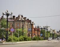 La rue Nikolaï Mouraviov