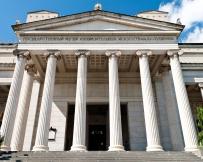 Les colonnes du musée Pouchkine