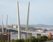 Pont de l'île Rousski de Vladivostok
