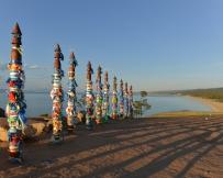Totems traditionnels de la région