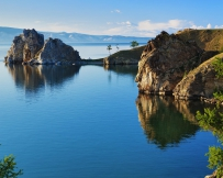 Paysage de l'île Olkhon
