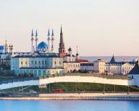 Vue du Kremlin depuis la Volga