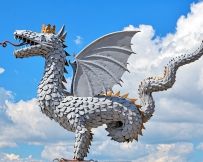 Zilant, dragon symbole de Kazan
