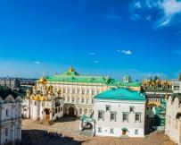 Moscou - Le territoire du Kremlin