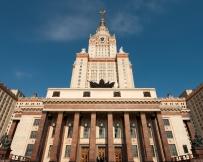 L'Université de Moscou, non loin de l'hôtel