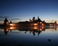 Iles Solovki monastère Solovetsky