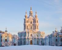 Saint-Petersbourg Cathédrale Smolny