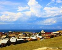 Khuzhir sur l'île Olkhon