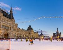 Place Rouge en hiver