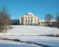 Palais Pavlovsk hiver