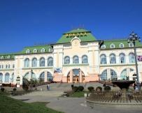 Khabarovsk : la gare