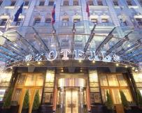 Hôtel Pierre Ier à Moscou, Façade de l'hôtel
