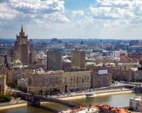 Moscou : vue sur la ville