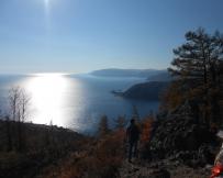 Lac Baïkal, vue de la colline Tcherski
