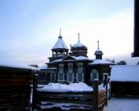Musée Taltsy en hiver