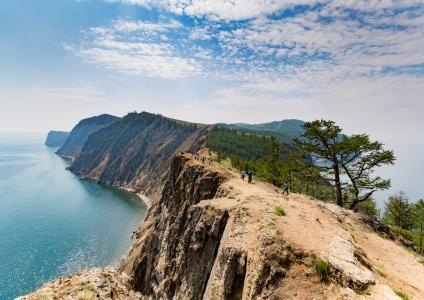 La pointe de l'île Olkhon
