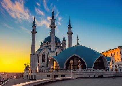 La mosquée de Kazan