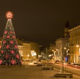 Voyage Vilnius Noël