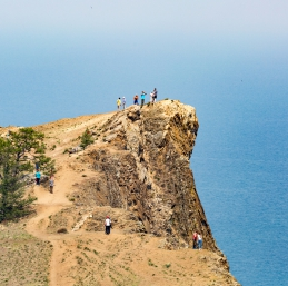Voyage Baikal - Le cap Khoboï