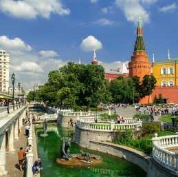 Moscou - Alexandrovsky Sad