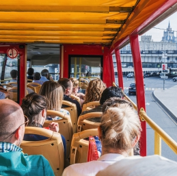 Visite Moscou - City Tour en bus rouge