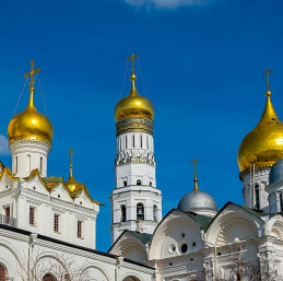 Voyage Moscou - Kremlin cathédrales